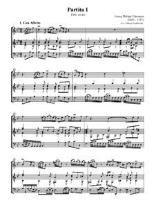 Partita I, TWV 41:B1: Partita I by Георг Филипп Телеманн