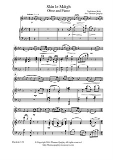 Slán le Máigh: Для гобоя и фортепиано by folklore