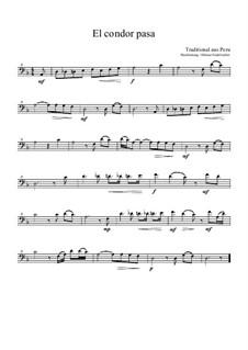 Летит кондор: For bass recorder by folklore