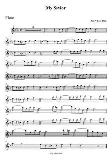 О Тебе пою Спаситель: Для флейты by folklore