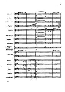 Концерт для фортепиано с оркестром до-диез минор, Op.30: Партитура by Николай Римский-Корсаков