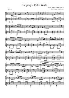 Swipesy: Для флейты и гитары by Скотт Джоплин, Arthur Marshall