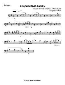 King Wenceslas Swings: For string orchestra - double bass part by Thomas Helmore