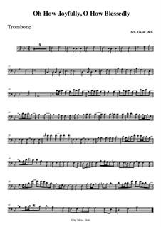Полный радости: Для тромбона by folklore