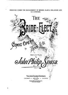 Избранница: Клавир с вокальной партией by Джон Филип Суза
