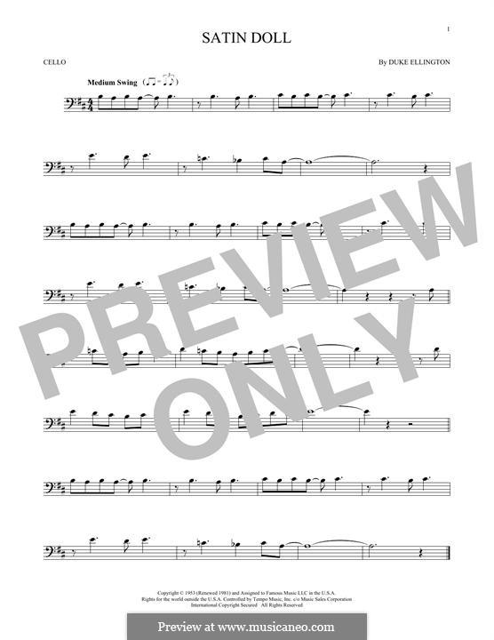 Satin Doll: Для виолончели by Billy Strayhorn, Duke Ellington