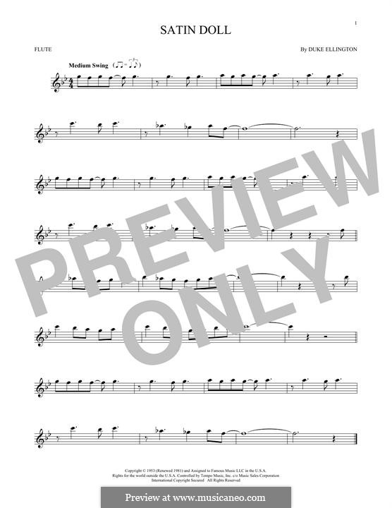 Satin Doll: Для флейты by Billy Strayhorn, Duke Ellington