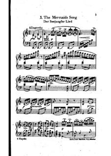 Песня Русалки: До мажор by Йозеф Гайдн