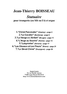Statuaire for trumpet (in Bb or C) and organ: Statuaire for trumpet (in Bb or C) and organ by Jean-Thierry Boisseau