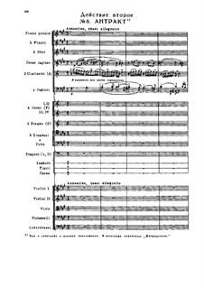 Снегурочка, TH 19 Op.12: Акт II, No.8-11 by Петр Чайковский