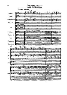 Снегурочка, TH 19 Op.12: Акт III, No.12-16 by Петр Чайковский