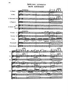 Снегурочка, TH 19 Op.12: Акт IV, Nos.17-19 by Петр Чайковский