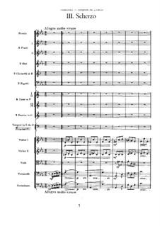 Симфония No.2 до минор 'Малороссийская', TH 25 Op.17: Часть III by Петр Чайковский