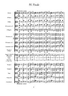 Симфония No.2 до минор 'Малороссийская', TH 25 Op.17: Часть IV by Петр Чайковский