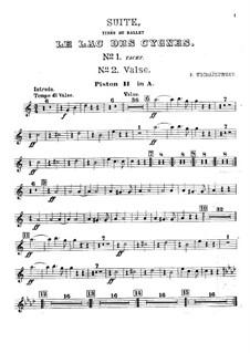 Версия A: Партия второго корнета by Петр Чайковский