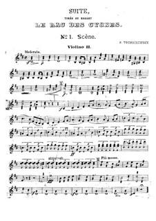 Версия A: Партия второй скрипок by Петр Чайковский