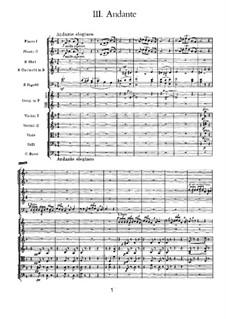 Симфония No.3 ре мажор 'Польская', TH 26 Op.29: Часть III by Петр Чайковский