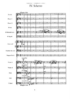 Симфония No.3 ре мажор 'Польская', TH 26 Op.29: Часть IV by Петр Чайковский