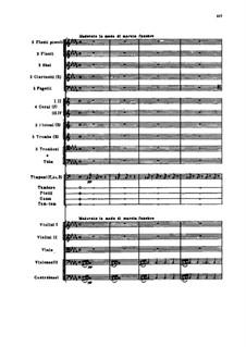 Славянский марш, TH 45 Op.31: Партитура by Петр Чайковский
