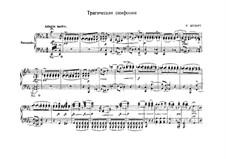 Симфония No.4 до минор 'Трагическая', D.417: Аранжировка для фортепиано в 4 руки by Франц Шуберт