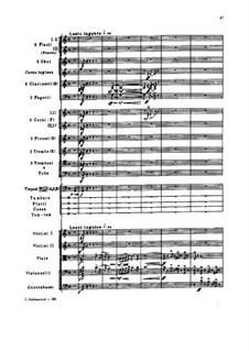Гамлет. Увертюра-фантазия, TH 53 Op.67: Партитура by Петр Чайковский
