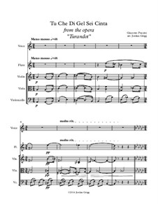 Turandot: Tu che di gel sei cinta by Джакомо Пуччини