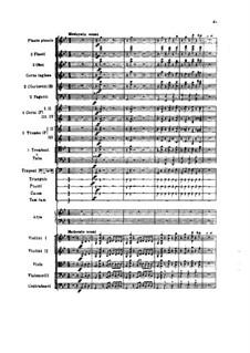 Фатум. Симфоническая фантазия, TH 41 Op.77: Партитура by Петр Чайковский