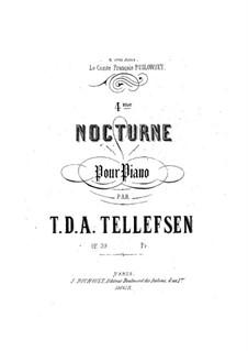 Ноктюрн No.4, Op.39: Ноктюрн No.4 by Томас Теллефсен