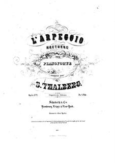 Два ноктюрна, Op.35: Ноктюрн No.2 by Сигизмунд Тальберг