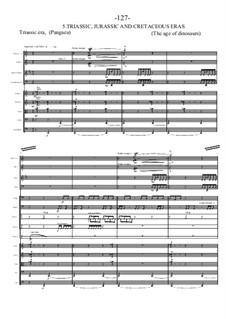 Genesis. Symphony in 7 movements: Партитура by Sonja Grossner