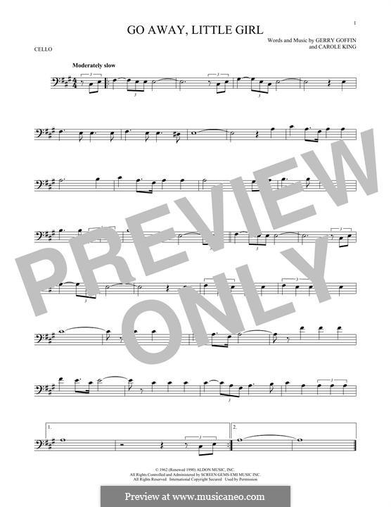 Go Away, Little Girl: Для виолончели by Carole King, Gerry Goffin