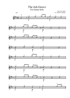 The Ash Grove: Для гитары (D Major) by folklore