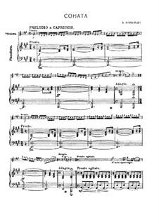 Соната для скрипки и бассо континуо ля мажор: Соната для скрипки и бассо континуо ля мажор by Антонио Вивальди