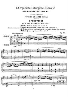 L'organiste liturgiste, Op.65: Книга II by Александр Гильман