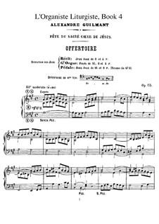 L'organiste liturgiste, Op.65: Книга IV by Александр Гильман