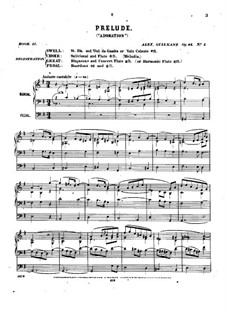 Pièces dans different styles for Organ: Book 11, Op.44 by Александр Гильман