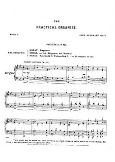 L'organiste pratique (The Practical Organist): Тетрадь II. Все пьесы, Op.41 by Александр Гильман