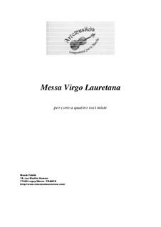 Messa Virgo Lauretana: Messa Virgo Lauretana by Paola Ciarlantini, Barbara Polacchi, Roberta Silvestrini, Stefania Spadini, Sara Torquati, Loredana Totò, Francesca Virgili