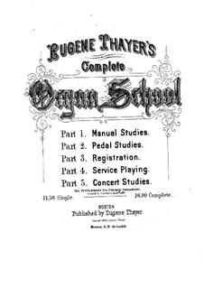Искусство игры на органе: Книга III by Юджин Тэйер