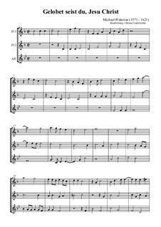 Gelobet seist du, Jesu Christ: Gelobet seist du, Jesu Christ by Михаэль Преториус
