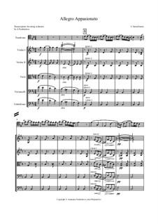 Аллегро аппассионато, Op.43: Для струнного оркестра by Камиль Сен-Санс