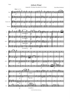 Jellicle Catgut: For wind quartet by Дэвид Соломонс