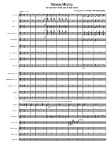 Strauss Medley: Strauss Medley by Иоганн Штраус (отец)