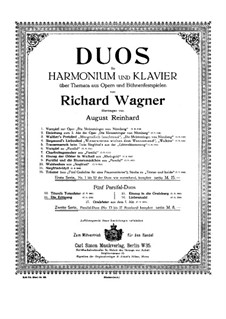 Die Erlösung: Для фисгармонии и фортепиано by Рихард Вагнер
