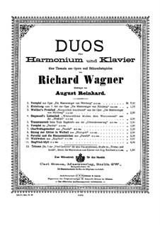 Зигфрид-идиллия, WWV 103: Для фисгармонии и фортепиано by Рихард Вагнер