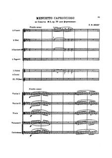 Соната для фортепиано No.2 ля-бемоль мажор, J.199 Op.39: Часть III, для оркестра by Карл Мария фон Вебер