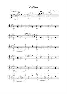 Котильон, Op.3: Котильон by Олег Копенков