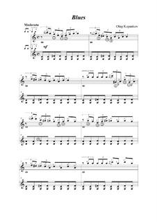 Блюз (для 2-х гитар), Op.2: Блюз (для 2-х гитар) by Олег Копенков