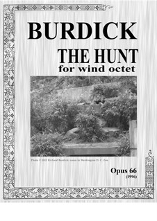 The Hunt for Wind Octet, Op.66: The Hunt for Wind Octet by Richard Burdick