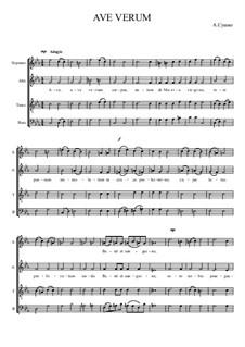 Ave Verum, Op.1: Ave Verum by Александр Сушко